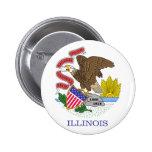 Bandera de Illinois Pins