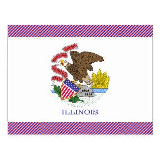Bandera de Illinois Postal