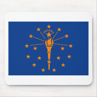 Bandera de Indiana Alfombrilla De Raton