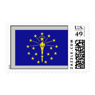 Bandera de Indiana Sello