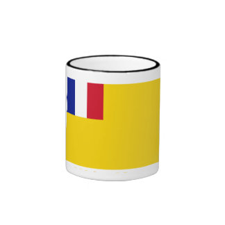 Bandera de indochina francés (1887-1954) taza a dos colores