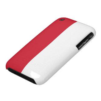 Bandera de Indonesia Case-Mate iPhone 3 Funda
