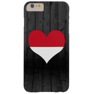 Bandera de Indonesia coloreada Funda Para iPhone 6 Plus Barely There