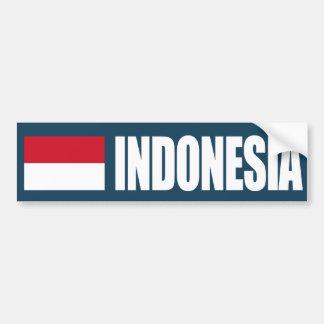 Bandera de Indonesia Pegatina Para Auto