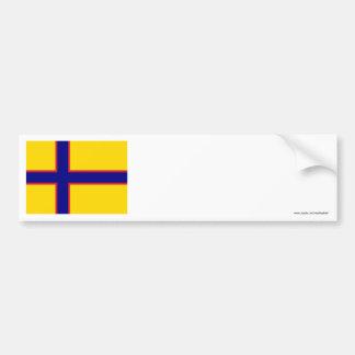 Bandera de Ingermanland Etiqueta De Parachoque