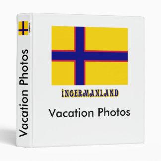 Bandera de Ingermanland con nombre