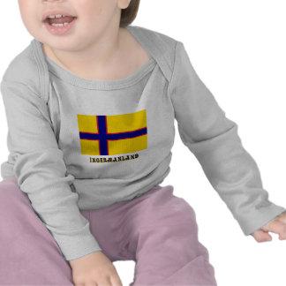 Bandera de Ingermanland con nombre Camisetas