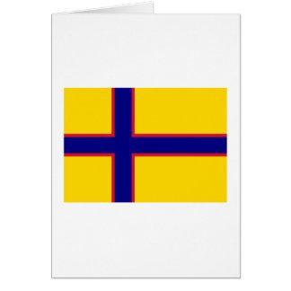 Bandera de Ingermanland Tarjeton