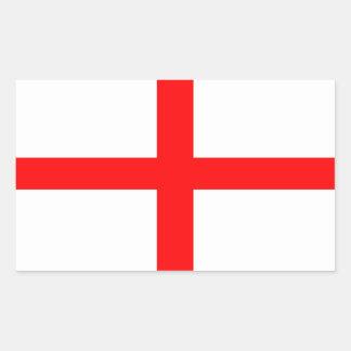 Bandera de Inglaterra de San Jorge Rectangular Altavoz