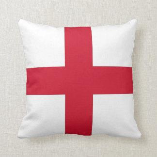 Bandera de Inglaterra en la almohada de MoJo del a