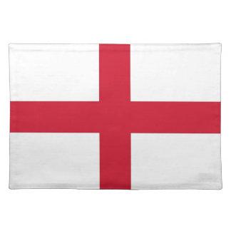 Bandera de Inglaterra en MoJo Placemat Mantel