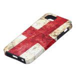 Bandera de Inglaterra iPhone 5 Cárcasas