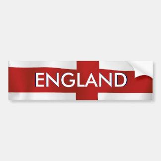Bandera de Inglaterra Pegatina De Parachoque
