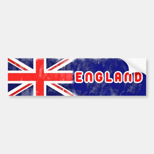 Bandera de Inglaterra Pegatina Para Coche