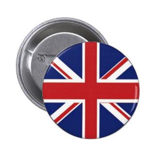 Bandera de Inglaterra Pin Redondo De 2 Pulgadas