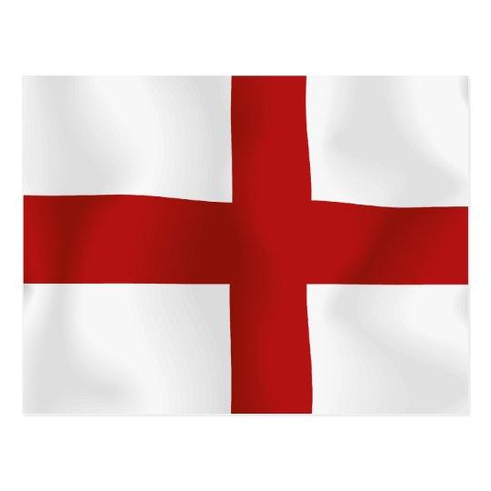 Bandera de Inglaterra Tarjeta Postal