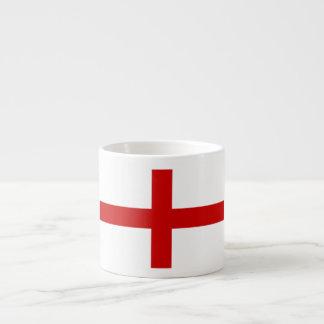 Bandera de Inglaterra Taza Espresso