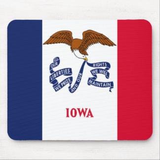 Bandera de Iowa Alfombrilla De Raton