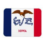 Bandera de Iowa Imanes De Vinilo