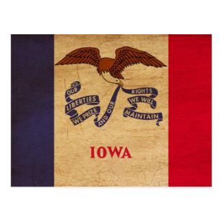 Bandera de Iowa Postales