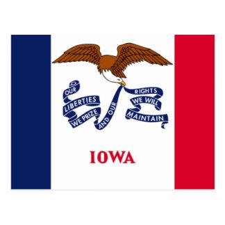 Bandera de Iowa Postal