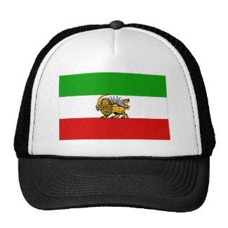 Bandera de Irán (1925-1979) Gorros Bordados