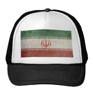 Bandera de Irán del vintage Gorros Bordados