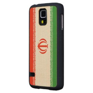 Bandera de Irán Funda De Galaxy S5 Slim Arce
