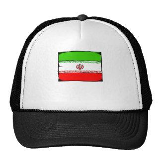 Bandera de Irán Gorro