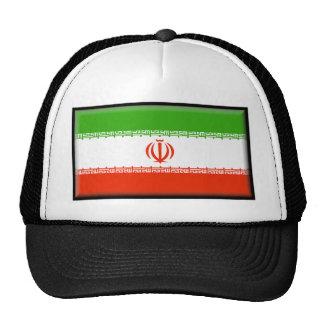 Bandera de Irán Gorros Bordados