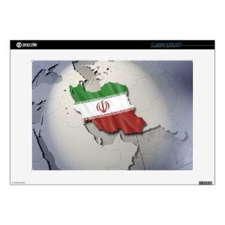Bandera de Irán Portátil Calcomanías