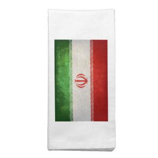 Bandera de Irán Servilleta Imprimida