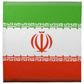 Bandera de Irán Servilletas De Papel