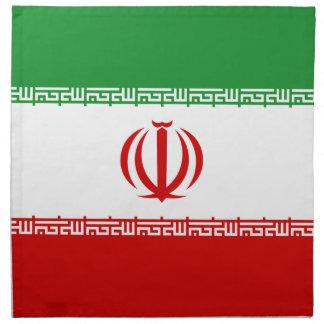 Bandera de Irán Servilleta De Papel