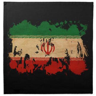Bandera de Irán Servilleta