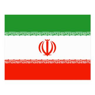 Bandera de Irán Postales