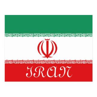 Bandera de Irán Tarjetas Postales