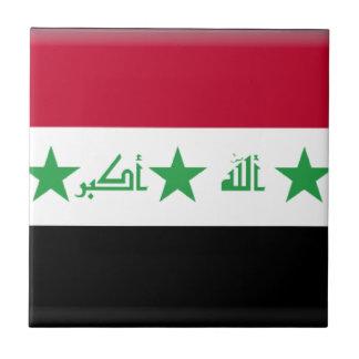 Bandera de Iraq Azulejos Ceramicos