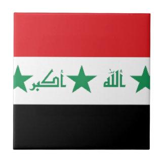 Bandera de Iraq Teja