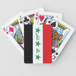 Bandera de Iraq Baraja De Cartas