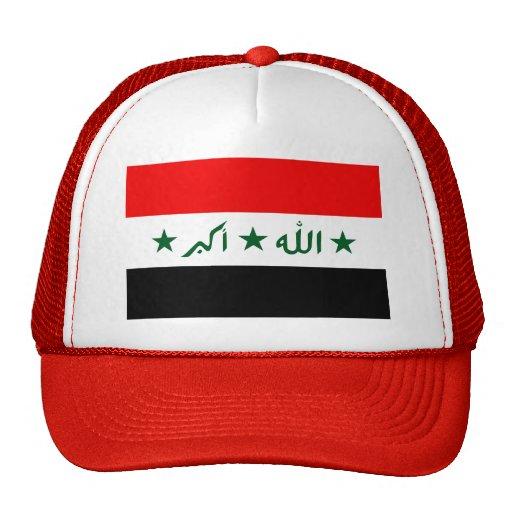 Bandera de Iraq Gorros Bordados