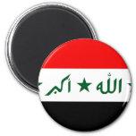 Bandera de Iraq Imán Para Frigorifico