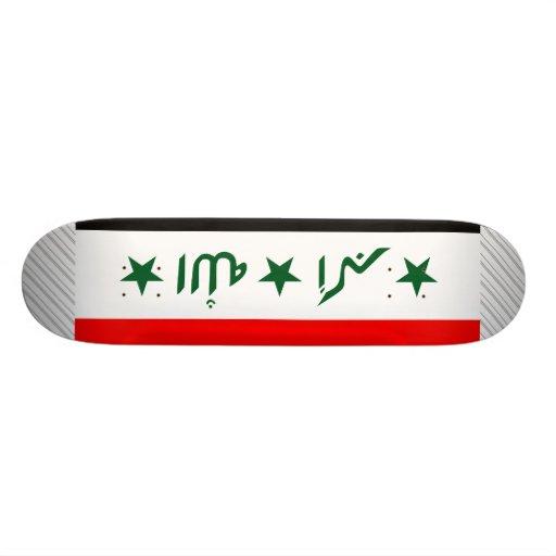 Bandera de Iraq Monopatines Personalizados