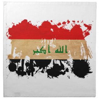 Bandera de Iraq Servilleta De Papel