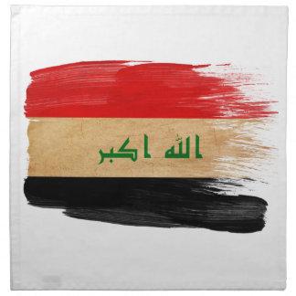 Bandera de Iraq Servilletas