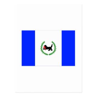 Bandera de Irkutsk Oblast Tarjeta Postal