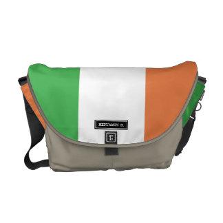 Bandera de Irlanda Bolsas De Mensajeria