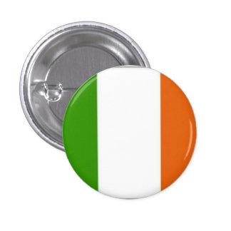 Bandera de Irlanda - botón tricolor irlandés Pin Redondo De 1 Pulgada