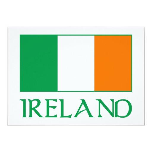 Bandera de Irlanda Comunicado Personal