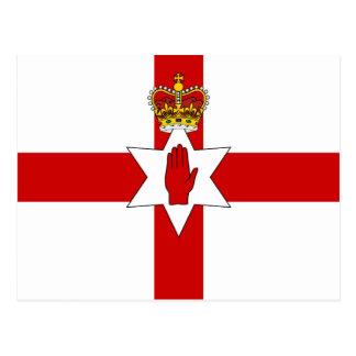 Bandera de Irlanda del Norte de la bandera de Postal